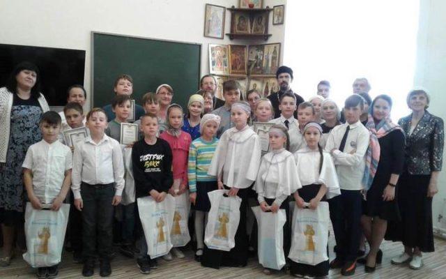 Итоги епархиального тура Олимпиады воспитанников воскресных школ