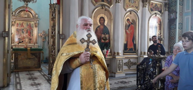 Праздничная Литургия в день крещения Руси и в день памяти равноапостольного великого князя Владимира